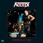 ACCEPT Staying a Life album cover