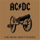 AC/DC For Those About To Rock (We Salute You) album cover