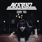 ALCATRAZZ Live '83 album cover