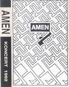 AMEN Koncert 1992 album cover
