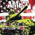 AMEN Gun Of A Preacher Man album cover