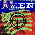 AMEN Here's The Poison album cover