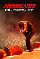 ANNIHILATOR — Live at Masters of Rock album cover