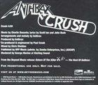 ANTHRAX Crush album cover