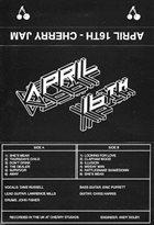 APRIL 16TH Cherry Jam album cover