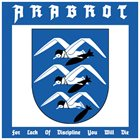 ÅRABROT For Lack Of Discipline You Will Die album cover
