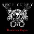 ARCH ENEMY Revolution Begins album cover