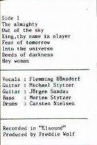 ARTILLERY Fear of Tomorrow album cover