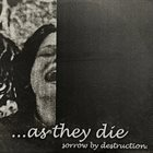 AS THEY DIE Sorrow By Destruction  album cover