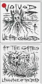 AT THE GATES We Are Connected / Language of the Dead album cover
