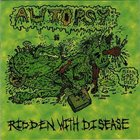 AUTOPSY Ridden With Disease album cover