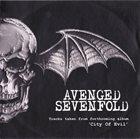 AVENGED SEVENFOLD Tracks Taken From Forthcoming Album 'City Of Evil' album cover