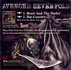 AVENGED SEVENFOLD Avenged Sevenfold / Mastodon Sampler album cover