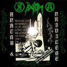 AXIOM (OR) Apathy & Privilege album cover