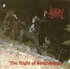 AZAZEL The Night of Satanachia album cover