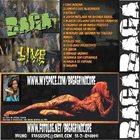 BAGA Live 2009 album cover