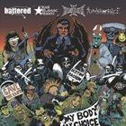 BATTERED Battered / Czas Złamać Prawo / Hellisheaven / Humarrogance album cover