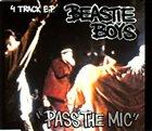 BEASTIE BOYS Pass the Mic EP album cover