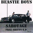 BEASTIE BOYS Sabotage: Free Shitty E.P. album cover