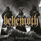 BEHEMOTH Live Barbarossa album cover