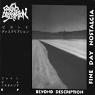 BEYOND DESCRIPTION Fine Day Nostalgia album cover
