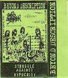 BEYOND DESCRIPTION Struggle Against Hypocrisy  album cover