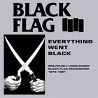 BLACK FLAG Everything Went Black album cover