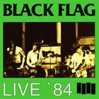 BLACK FLAG Live '84 album cover