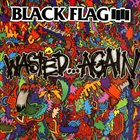BLACK FLAG Wasted...Again album cover