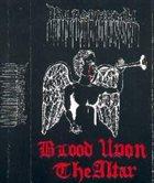 BLASPHEMY Blood Upon the Altar album cover