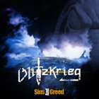 BLITZKRIEG Sins And Greed album cover