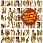 BON JOVI 100,000,000 Bon Jovi Fans Can't Be Wrong album cover