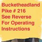 BUCKETHEAD Pike 216 - Wheels Of Ferris album cover