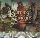 BURNING SAVIOURS Boken om förbannelsen album cover