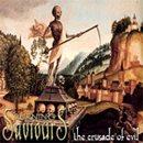 BURNING SAVIOURS The Crusade of Evil album cover
