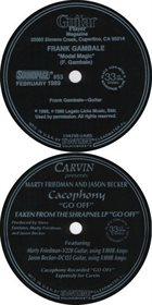 CACOPHONY Modal Magic / Go Off album cover