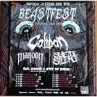 CALIBAN Beastfest European Tour 2009 album cover