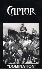CAPTOR Domination album cover