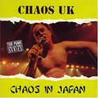 CHAOS U.K. Chaos In Japan album cover