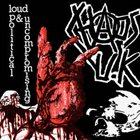 CHAOS U.K. Loud Political & Uncompromising album cover