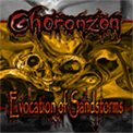 CHORONZON Evocation of Sandstorms album cover