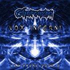 CHORONZON Vox Inferni album cover