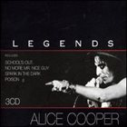 ALICE COOPER Legends album cover