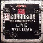 CORROSION OF CONFORMITY Live Volume album cover