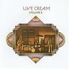 CREAM Live Cream Volume II album cover