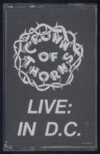 CROWN OF THORNS (VA) Live: In D.C. album cover