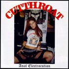 CUT THROAT Anal Electrocution album cover