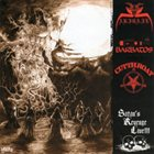 CUT THROAT Satan's revenge Live!!! album cover