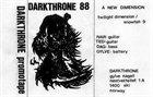 DARKTHRONE A New Dimension album cover