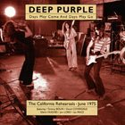 DEEP PURPLE Days May Come And Days May Go: The 1975 Rehearsals Pt. 1 album cover